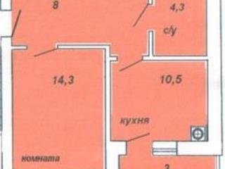 Продажа квартир: 1-комнатная квартира, Краснодар, Семигорская ул., фото 1
