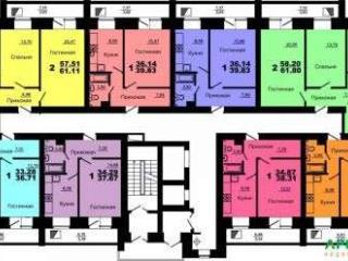 Продажа квартир: 2-комнатная квартира в новостройке, Красноярск, Норильская ул., 16г, фото 1