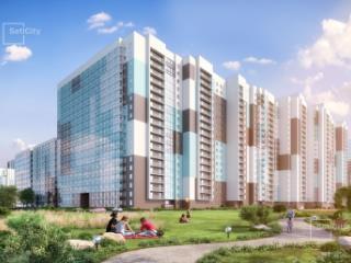 Продажа квартир: 3-комнатная квартира в новостройке, Санкт-Петербург, Комендантский пр-кт, 2, фото 1