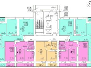 Продажа квартир: 3-комнатная квартира в новостройке, Пензенская область, Пенза, ул. 8 Марта, 3, фото 1