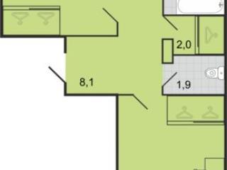 Продажа квартир: 2-комнатная квартира, Краснодар, ул. Дорожная 5-я, фото 1
