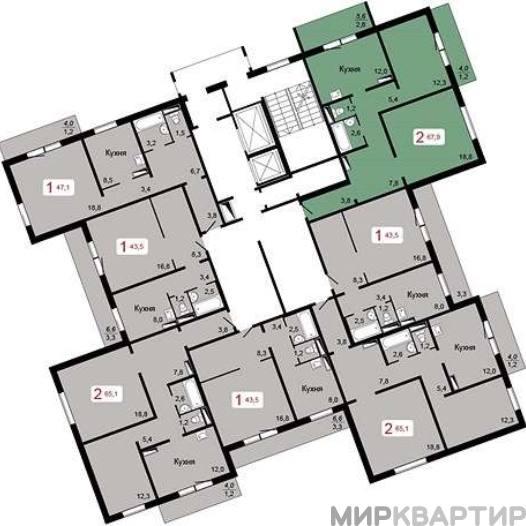 Продам квартиру в новостройке Красноярск, ул. Шахтеров, 4