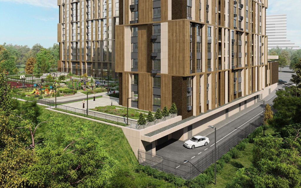 Продажа квартир: 1-комнатная квартира в новостройке, Москва, Озерная ул., стр1влд35, фото 1
